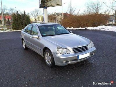 używany Mercedes 220 C Klasa W203CDi Automat Skóra Rejestracja PL