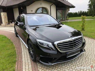 używany Mercedes S63 AMG AMG 4 Matic Long 585 Km 2017