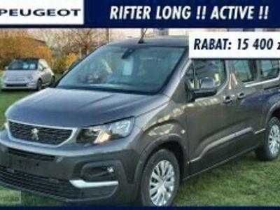 używany Peugeot Rifter Long ACTIVE 130Km Czujniki Tył i Przód !! Klimatyzacja Automatyczna