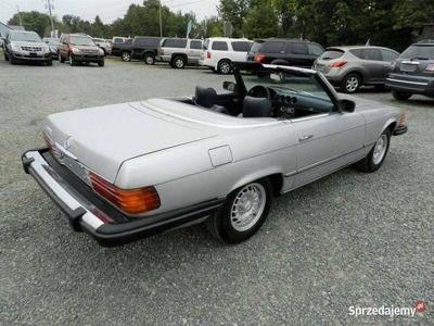 używany Mercedes SL450 SL 450 -BENZSILVER 1980 8 CYLINDER BENZ. 204KM 162772KM R107 (1972-1989)
