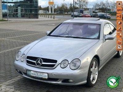 używany Mercedes CL500 Klasa CL W215 CLfull opcja śliczny zadbany dociagania drzwi
