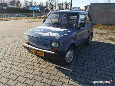 używany Fiat 126 650e Klasyk, Zabytek, Żółte Tablice.