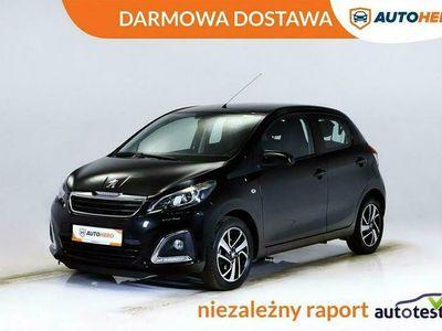 używany Peugeot 108 1.2dm 82KM 2015r. 38 940km