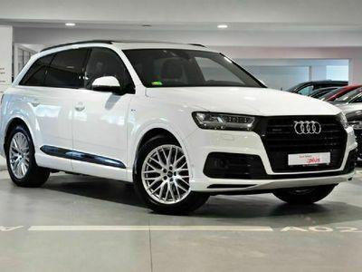 używany Audi Q7 II 3.0TDI 272KM, oś skrętna, matrix, asystenci, rejestracja 2018r