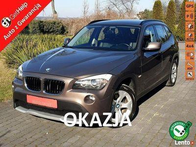 używany BMW X1 Skóry S-Drive 4X4 Klimatronik Navigacja