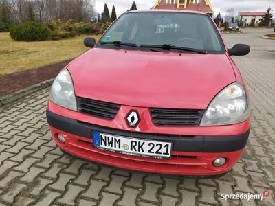 używany Renault Clio 1.2 benzyna 2005r PO OPLATACH