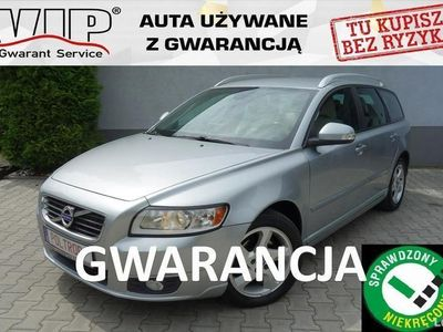 używany Volvo V50 1,6D Skóra Klimatronik Alu Navi Opłacony VIP Gwarancja