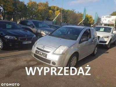 używany Citroën C2 1.1dm3 60KM 2005r. 168 784km 1.1 Benzyna 60 KM, centralny zamek, opłacony gotowy do rejestracji