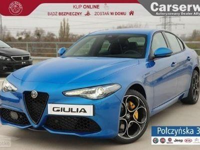 używany Alfa Romeo Giulia Veloce 2.0 280 KM | Niebieski|Czarna skóra |Asystent kierowcy| MY2020