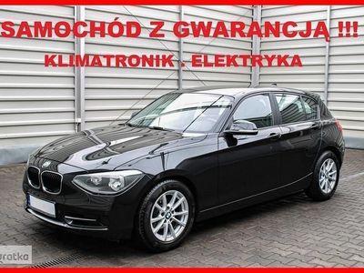 używany BMW 116 SERIA 1Klimatronik + Elektryka + Parktronik + GWARANCJA !!!