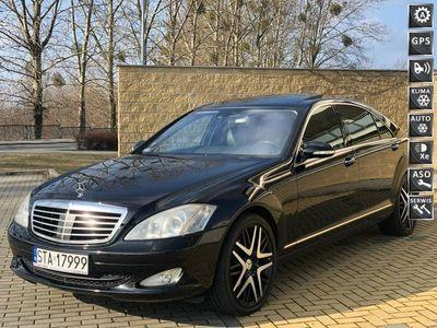 używany Mercedes S320 3.2dm 235KM 2006r. 390 000km