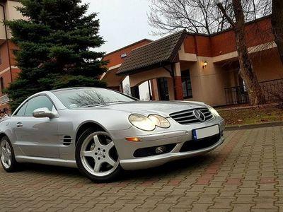 używany Mercedes SL500 5dm 306KM 2003r. 156 800km