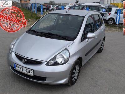 używany Honda Jazz 1.4dm3 83KM 2007r. 152 000km Gwarancja Techniczna, 1.4 Benzyna - 83 KM - V-TEC, Klimatronik