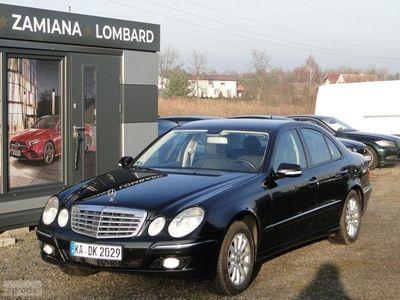 używany Mercedes E200 Klasa E W211Avantgarde*184KM *Sport*Lift*LPG*