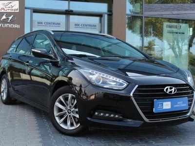 brugt Hyundai i40 1.7dm3 141KM 2016r. 64 200km 1.7 CRDI 141KM Wagon Comfort Od Dealera Salon PL 1 wł. rej.2017 FV23%