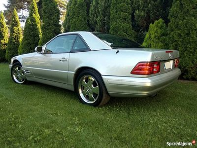 używany Mercedes SL500 z Kalifornii R129