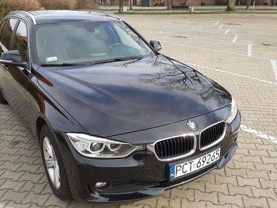 używany BMW 318 3 d 143KM 2014r. BLACK
