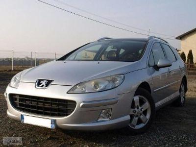 używany Peugeot 407 1.6 HDI, 110 KM, Navi, Panorama dach, Alu, Kliamtronic. PDC