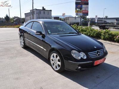 używany Mercedes CLK240 2.6dm3 200KM 2004r. 186 000km 2.6 benzynka/nawigacja/skóra - poprawki lakiernicze icdauto kęty !