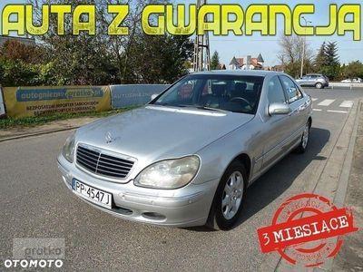 używany Mercedes 320 Klasa S W220*XENONY*NAVI+DVD*AUTOMAT*Webasto*Skóra*Parktroniki*Tempomat*Gwar
