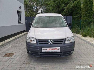 używany VW Caddy 1.9 TDI 105KM # Diesel # Centralny # Wspomaganie # Gwarancja III (2004-)