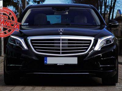 używany Mercedes S350 3dm 258KM 2013r. 55 000km