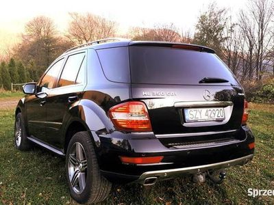 używany Mercedes ML350 cdi airmatic, piękny, bezwypadkowy ASO