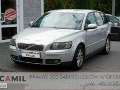 używany Volvo V50 I 2.0 Diesel 136KM, F-VAT 23%, Climatronic, Ubezpieczony, Zarejestrowa