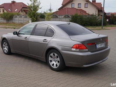 używany BMW 735 7 i nowy model zarejestrowana 3.600 benzyna