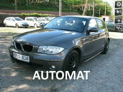 używany BMW 120 2.0d-163km-Automat-1-Właściciel-Klimatronik-Tempomat-Komputer E87 (2004-2013)