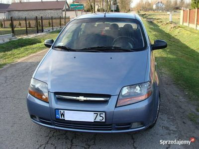 używany Chevrolet Aveo 2006r 1.2 B+G Sekwencja! Zadbany!!!