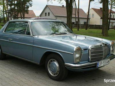 używany Mercedes W114 - 280 - 185 KM - Coupe - Klimatyzacja