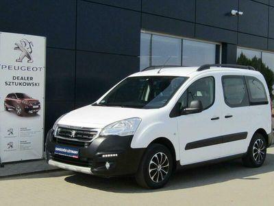 używany Peugeot Partner II 1.6 BlueHDi Outdoor Salon PL Gwarancja Dealer Vat23%