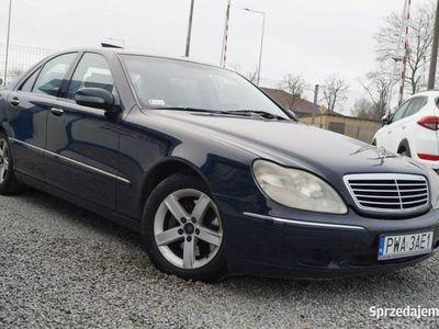 używany Mercedes S320 W220 3.2 224KM