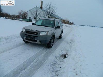 używany Land Rover Freelander 2dm 112KM 2001r. 234 000km