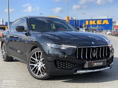 używany Maserati Levante SQ4 4X4 Gran Turismo max stan salonowy fabryczny jak nowy gwarancja