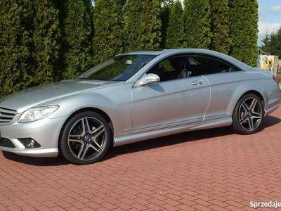 używany Mercedes CL500 5.5dm 388KM 2009r. 66 000km