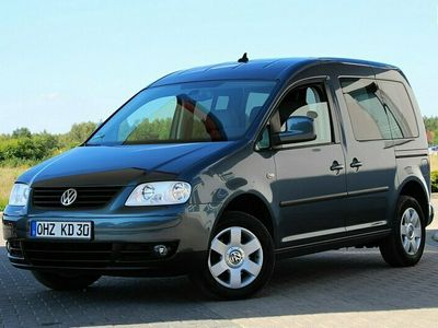 używany VW Caddy Life 7osobowy Navi Klimatronik 105KM Pdc Sensory Lift Niemcy III (2004-)