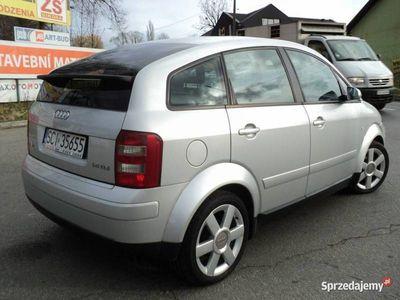 używany Audi A2 1.4dm 75KM 2001r. 231 658km