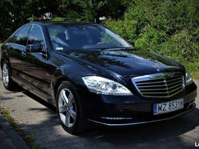 używany Mercedes S350 Bezwypadkowy/ Faktura VAT/ Webasto/ Serwisowany/ Niski Przebieg W221 (2005-2013)