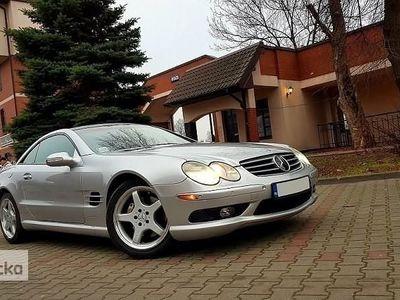 używany Mercedes 500 Klasa SL R230AMG Radar Xenon Wentylowane Fotele Piekny ! F Vat