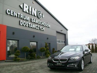 używany BMW 520 2dm 184KM 2014r. 160 000km