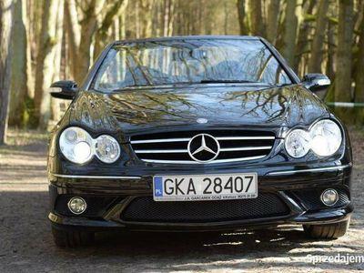 używany Mercedes CLK55 AMG AMG cabrio pełny oryginał dla kolekcjonera