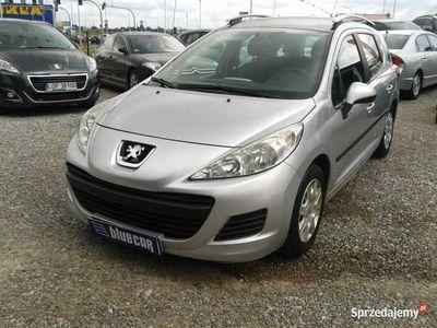 używany Peugeot 207 1.4dm 95KM 2011r. 115km