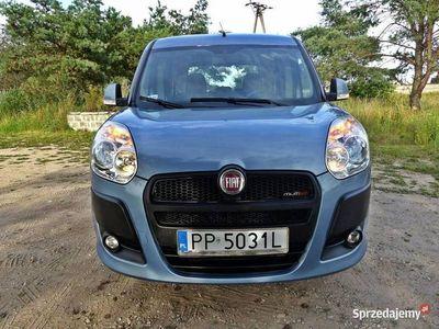 używany Fiat Doblò 1.6dm 105KM 2013r. 214 000km