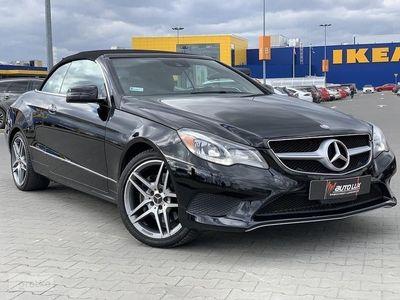używany Mercedes 350 Klasa E W212Piękny Kabriolet -stan auta półrocznego - idealny pak AMG Gwaran