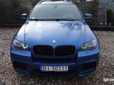 używany BMW X6 M Monte Carlo Blau Metallic/ Czarna Skóra/ Nagłośnieni