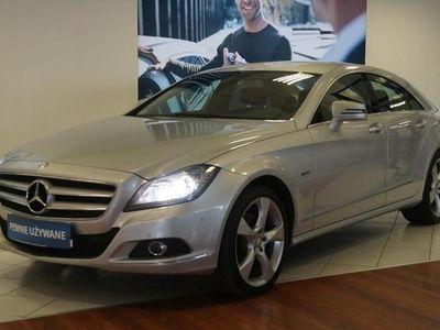 używany Mercedes 350 Klasa CLS W218 350CDI 4MATIC Salon PL F-VAT