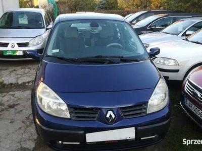 używany Renault Scénic II 1,6i 2005 nowy rozrząd zadbany klima raty!