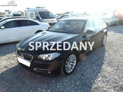 używany BMW 525 seria 5 2dm3 218KM 2015r. 142 540km D xDrive Steptronic, 4 WD,Automat, FV 23%, Gwarancja!!